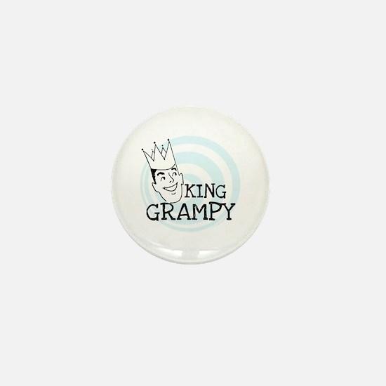 King Grampy Mini Button
