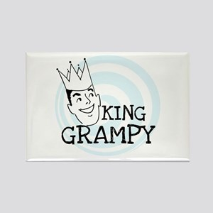 King Grampy Rectangle Magnet