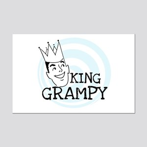 King Grampy Mini Poster Print
