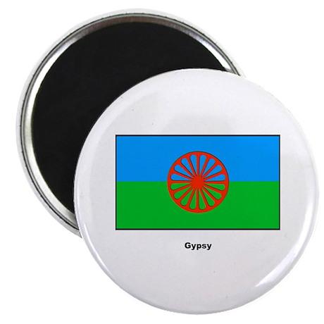"Gypsy Flag 2.25"" Magnet (10 pack)"