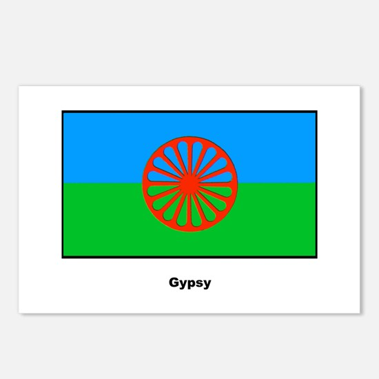 Gypsy Flag Postcards (Package of 8)