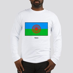 Gypsy Flag (Front) Long Sleeve T-Shirt