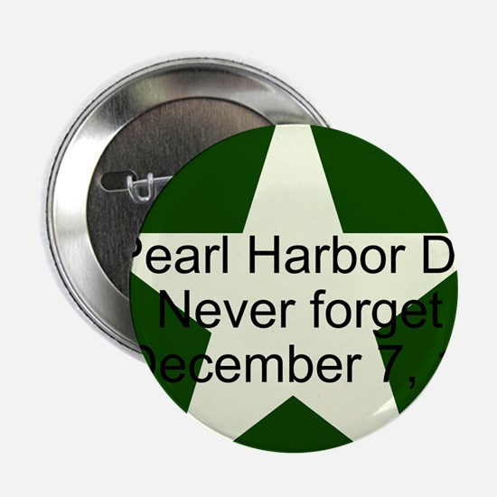 """Pearl harbor day: Never forge 2.25"""" Button"""