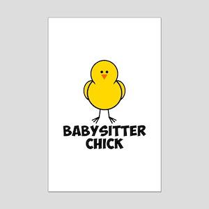 Babysitter Chick Mini Poster Print