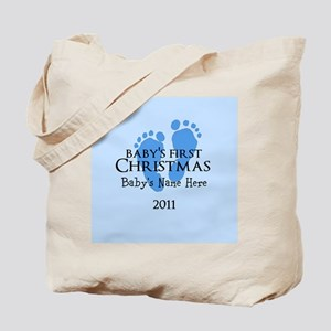 Baby's First Christmas 2011 Tote Bag