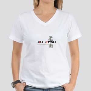 Jiu Jitsu - The Locksmith Women's V-Neck T-Shirt