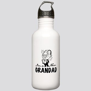 Smiling New Grandad Stainless Water Bottle 1.0L