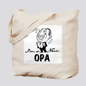 Smiling New Opa Tote Bag