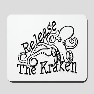 Release the Kraken Mousepad