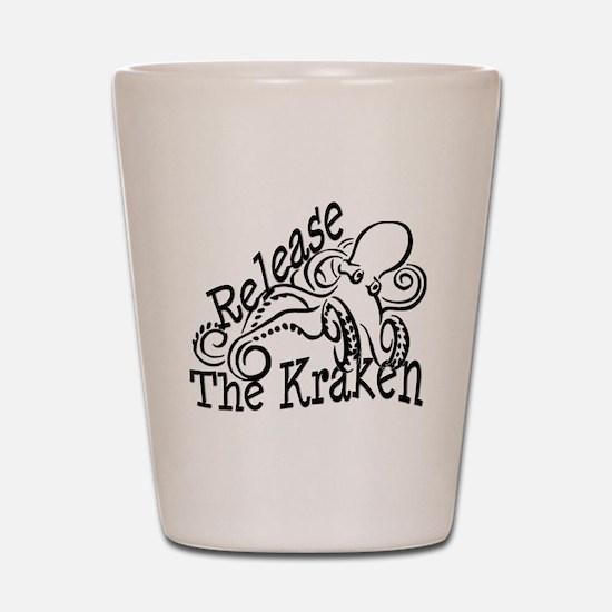 Release the Kraken Shot Glass
