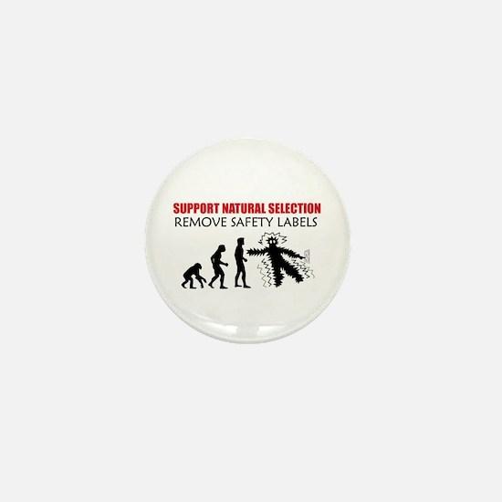 Natural Selection Mini Button