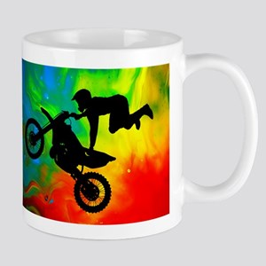Solar Flare Up Motocross Mugs