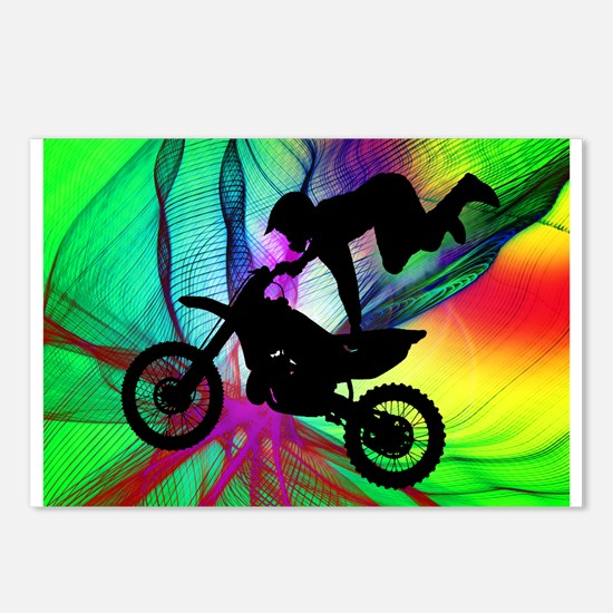 Cute Motocross Postcards (Package of 8)