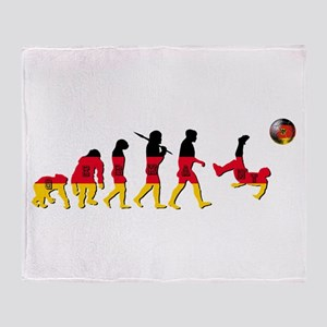 German Football Throw Blanket