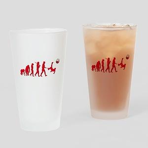 Evolution of Polish Football Drinking Glass