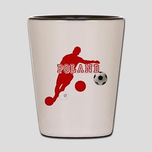 Polish Soccer Player Shot Glass