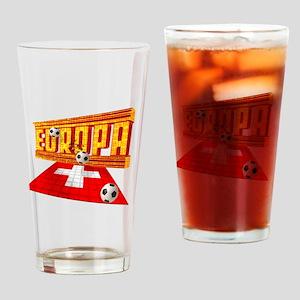 Europa Switzerland Drinking Glass