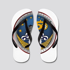 USS Enterprise CVN-65 50th An Flip Flops