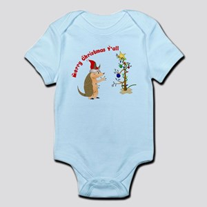 Armadillo Christmas Infant Bodysuit