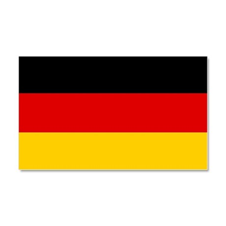Germany/Deutschland Car Flag Car Magnet 20 x 12