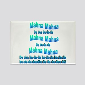Mahna Mahna Rectangle Magnet (10 pack)