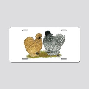 Sizzle Chickens Aluminum License Plate