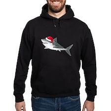 Christmas - Santa - Shark Hoodie (dark)