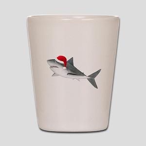 Christmas - Santa - Shark Shot Glass