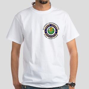 Flight Instructor White T-Shirt