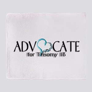 T 18 Advocate Throw Blanket
