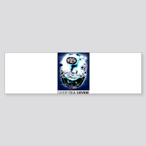 Deep Sea Diver Gear Sticker (Bumper)