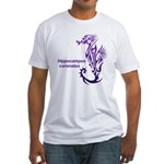 Sea horse Fitted T-Shirt