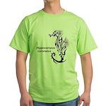 Sea horse Green T-Shirt