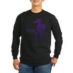 Sea horse Long Sleeve Dark T-Shirt