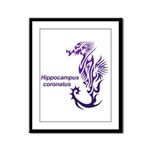 Sea horse Framed Panel Print