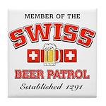Beer Patrol Tile Coaster