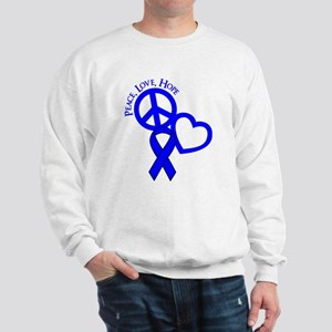 Peace,Love,Hope Sweatshirt