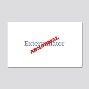 Exterminator / Abnormal 22x14 Wall Peel