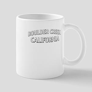 Boulder Creek California Mug