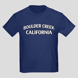 Boulder Creek California Kids Dark T-Shirt