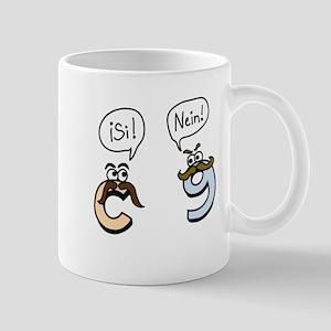 Si! Nein! Mug