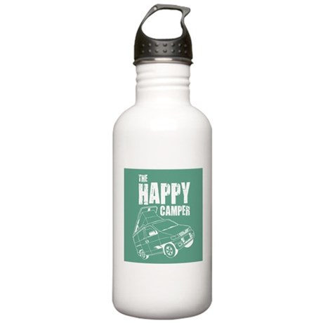 The Happy Camper Stainless Water Bottle 1.0L