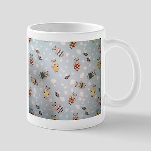 Teddy Bears Toppling Mug