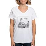 Drinking Fountain Women's V-Neck T-Shirt