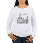 Drinking Fountain (no text) Women's Long Sleeve T-