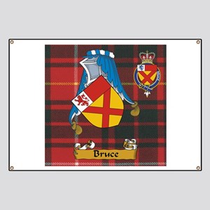 Bruce Scottish Family Name Banner