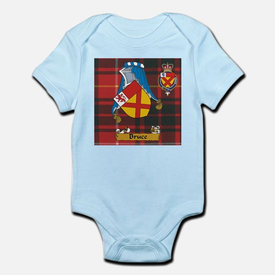 Bruce Scottish Family Name Infant Bodysuit