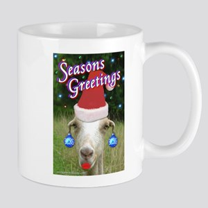 Ruby the Sassy Christmas Goat Mug