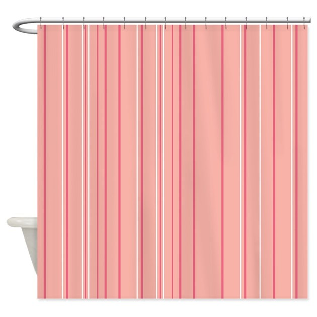 peach colored kitchen curtains stripes multi shower curtain by admin cp45405617 4113