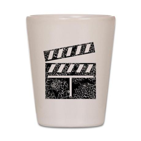 Worn, Movie Set Shot Glass